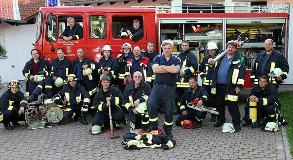Freiwillige Feuerwehr Bechtheim Manner Durchs Feuer Gehen